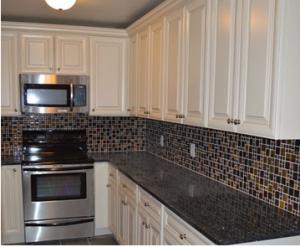 casa blanca glazed kitchen cabinets