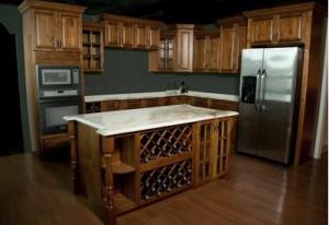 Rustic Brown Kitchen