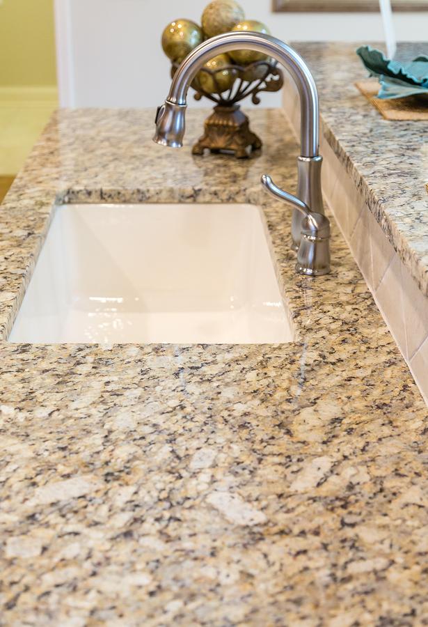 New Sink in Granite Countertop