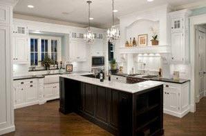 kitchen island bar black