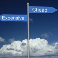 exepensive or cheap