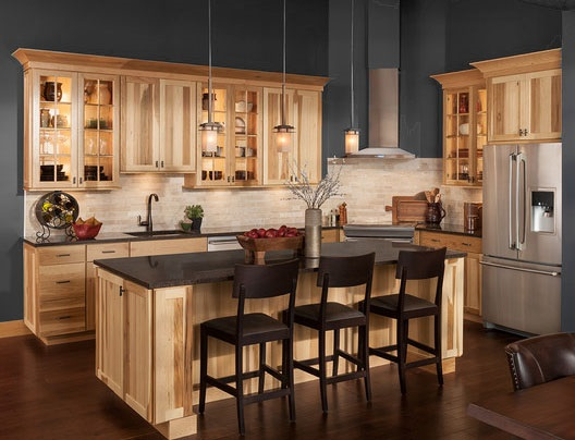 Using Kitchen Cabinets Without Doors To Create An Open Feel Rta