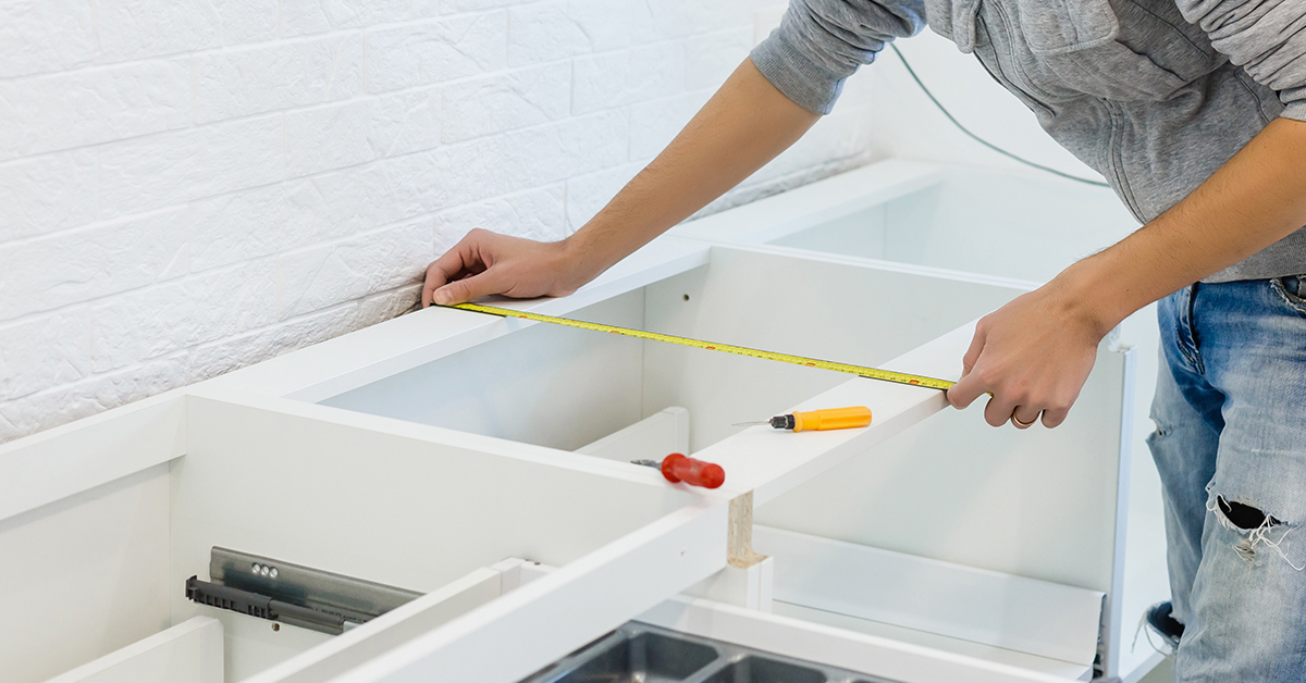 How to measure a kitchen for cabinets